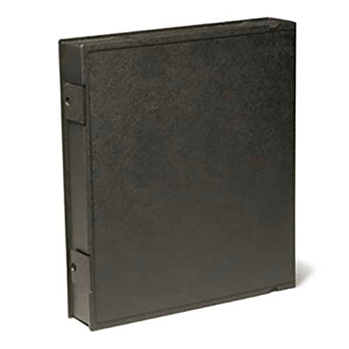 Vue-All Archival Safe-T-Binder with Rings, Black