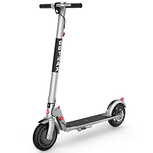 Gotrax XR Ultra Electric Scooter, LG Battery 36V/7.0AH Up to 18 Miles Long-range, Powerful 300W Motor & 15.5 MPH, UL Certified Adult E-Scooter for Commuter (Gray)