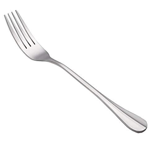 ANFIMU Set of 15 - Stainless Steel Restaurant & Hotel Quality Elegance Dinner Forks