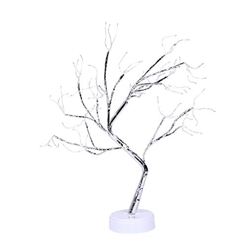 Sconosciuto Generic 108LEDs Copper Wire Lights Christmas Decoration Touching Switch LED Tree Lamp