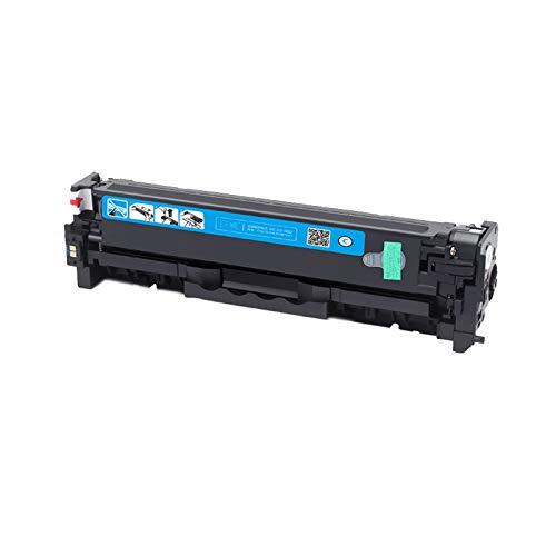 AXAX Tóner de repuesto compatible con HP CE410A CE411A CE412A CE413A Cartucho de tóner para HP Laserjet Enterprise 300 Color M351MFP M375NW, impresión estable, color cian