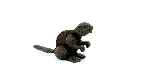 Kinder Überraschung Bieber en color marrón oscuro (animales de América del Norte de 1991)