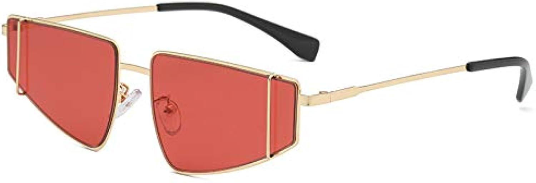 Sunglasses, Big Box Men and Women Metal Punk Sunglasses, Trend Street Sunglasses (2Pcs)