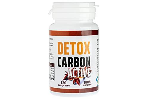 DETOX CARBON ACTIVE | Dimagrante Detox | Brucia Grassi | Per Perdere Peso Velocemente | Eccezionale Per Pancia Piatta Cosce Addominali E Purificare Il Corpo Termogenico Naturale