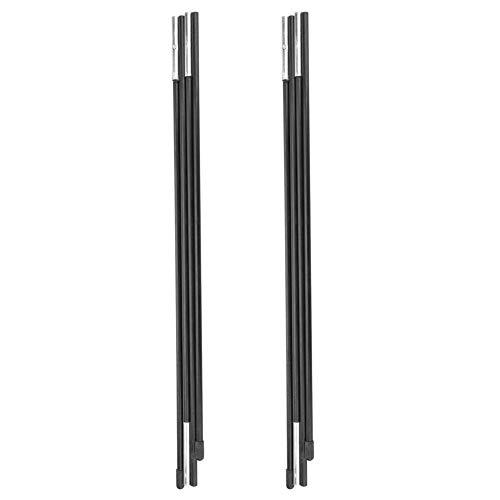 Barra de soporte para carpas, fibra de vidrio plegable portátil Tienda para...