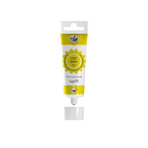 Colorante alimentario en tubo ProGel 25 g - amarillo