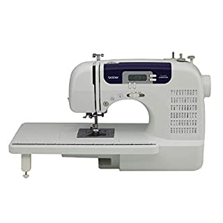 "Brother Sewing and Quilting Machine, CS6000i, 60 Built-in Stitches, 2.0"" LCD Display, Wide Table, 9 Included Sewing Feet (B000JQM1DE) 