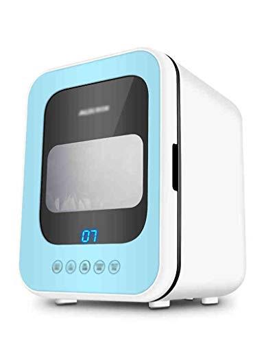 Tragbarer Mini-Wäschetrockner, Elektrischer Edelstahltrockner, Geeignet zum Trocknen von Kleinen Kleidungsstücken, Dreischichtiges Gestell, Eingebaute UV-Lampe, Multifunktionsgerät, Verwendung in Inne