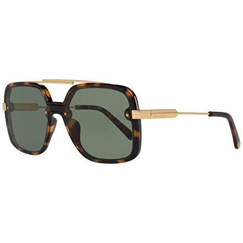 DSQUARED2 DQ0270 52N 00 Monturas de gafas, Marrón (Avana ScuraVerde), 0.0 Unisex Adulto