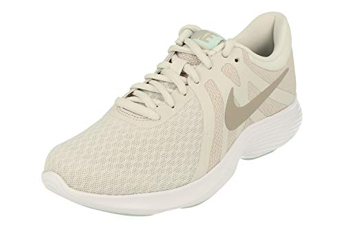 Nike Donne Revolution 4 Running Trainers 908999 Sneakers Scarpe (UK 3 US 5.5 EU 36, Platinum Tint Moon Particle 017)