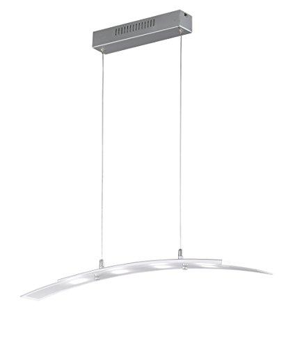 Reality Papaja Lampada a Sospensione LED, Curvo 5 W, Alluminio