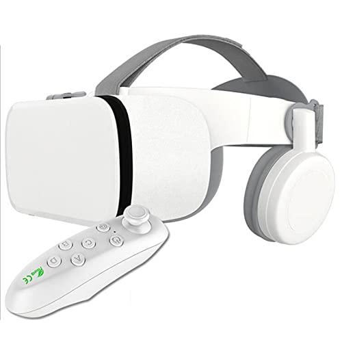 HBOY Auriculares VR Compatibles con Auriculares De Realidad Virtual De 4,7 A 6,3 Pulgadas con Auriculares Inalámbricos para Películas IMAX, Suaves Y Cómodos