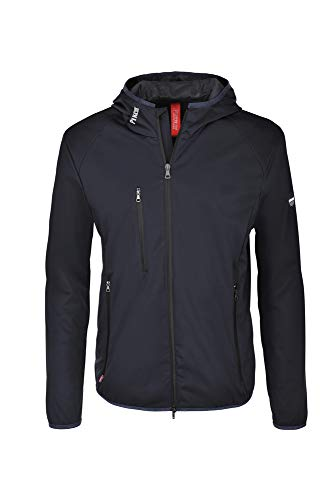 PIKEUR Herren Softshelljacke MILTON, night sky/blue, 48