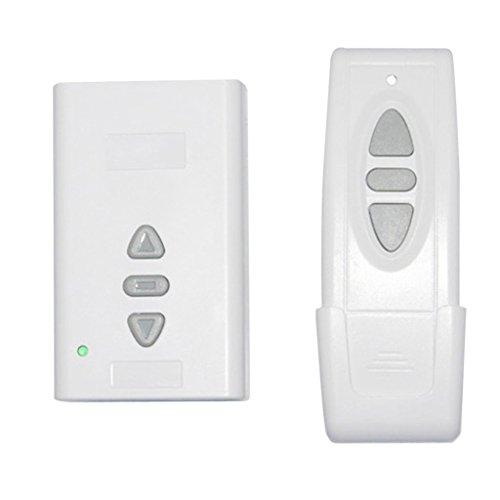 yotijar Módulo de Control Remoto Inalámbrico con Interruptor de Control Lineal Blanco