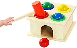 Toys&Hobbies Baby Early Education Intellectual Toy Percussion Knocking Table, Size: 12 * 12 * 10cm