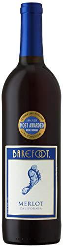 6x 0,75l - Barefoot - Merlot - Kalifornien - Rotwein trocken