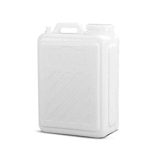 Bbhhyy Camping Wasserbehälter, Große Mund-Flach Eimer Tragbarer Eimer Wasser PE Food Grade Außen Kunststoff Wassertank (Size : 25L)