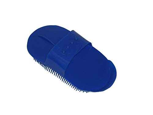 BITZ CURRY COMB PLASTIC LARGE - BLUE - TRL8155
