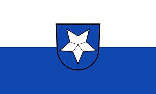 Unbekannt magFlags Tisch-Fahne/Tisch-Flagge: Kronau 15x25cm inkl. Tisch-Ständer