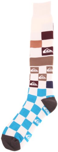 Quiksilver Herren Socken Bar Sox Fleece Large/X-Large bunt - DNA Snow Tomato