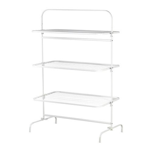 IKEA MULIG - tendedero, 3 niveles, blanco