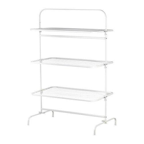 IKEA MULIG Wäschetrockner in weiß; für innen und außen; 3-stufig