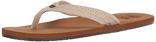 Billabong Women's Kai Flip Flop, White Cap, 9