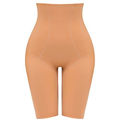 Pantalones cortos moldeadores de cuerpo de cintura alta para mujer, para muslo, adelgazante, control de barriga, sin costuras, invisibles, levantadores de glúteos