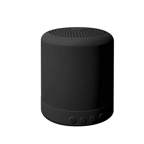GKJ Mini Altavoz Bluetooth Inteligente portátil Bluetooth + FM Altavoz MP3 Recarga Música Subwoofer Estéreo Portátil Audio Altavoces,C