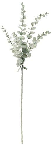 asca 造花 ユーカリスプレー 全長72cm 葉径0.6~3cm フロストグリーン A-42659-051F