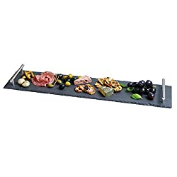 Kitchen Craft ARTPLATTER slate tray, serving set