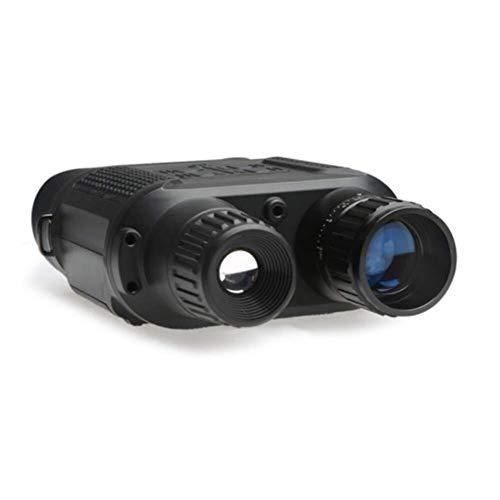MOZUSA Binoculares, telescopio Profesional 3.5-7X Ampliación HD, visión Nocturna por Infrarrojos SD de Almacenamiento de vídeo for observación de Aves y Caza Conciertos