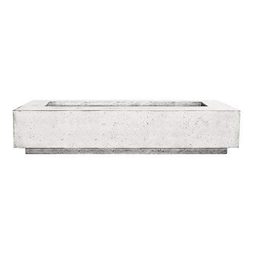 Buy Discount Prism Hardscapes Tavola 6 Electronic Ignition Concrete Gas Fire Pit (PH-415-5NG-WBECS),...