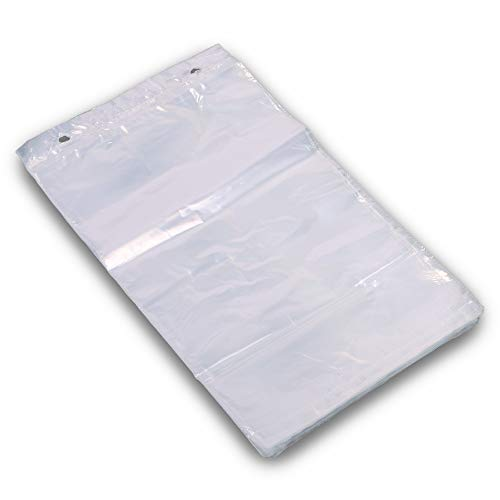 1000x Flachbeutel, Folienbeutel, LDPE, geblockt, transparent, 200 x 300 mm