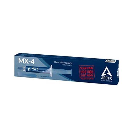 ARCTIC MX-4 (Espátula incl, 8 g) - Compuesto térmico de alto rendimiento de micropartículas de carbono, pasta térmica… 2