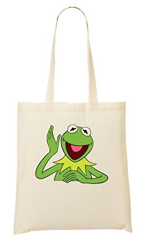 C+P Kermit The Frog Funny Puppet Tragetasche Einkaufstasche