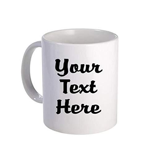 Zachrtroo koffiemok met tekst 'Hier koffiekopje' (11 ounces)