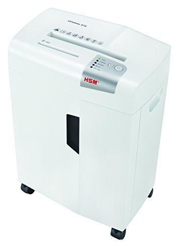 HSM SHREDSTAR X15 Destructor de archivos blanco 1030121 Corte de partículas 4x37mm P4 15 Hojas