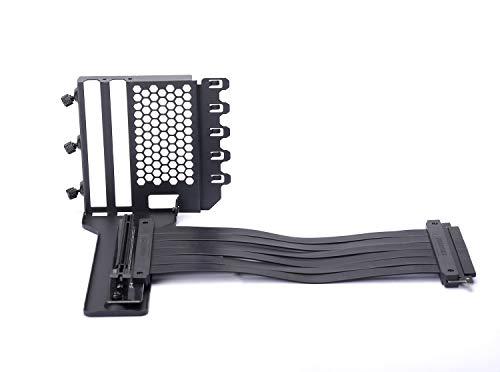 Phanteks PH-VGPUKT_02 – Universal Vertikale GPU-Halterung mit 220 mm Flat Line PCI-E X16 Riser Cable Kit