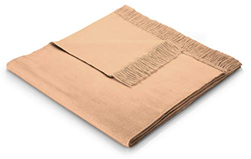 biederlack Sofa 50x200 cm I Sesselschoner teeblüte I Sofaschoner in orange I 60% Baumwolle, 40% dralon I Made in Germany