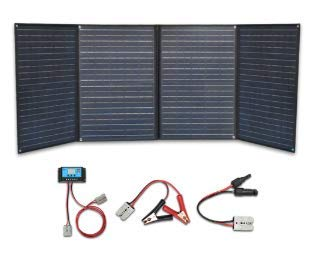 XINPUGUANG 200w 4 x 50 Panel solar Cargador monocristalino plegable 20A Controlador USB dual Cable fotovoltaico para autocaravana Tienda de campaña Autocaravana Barco 12v Carga de batería