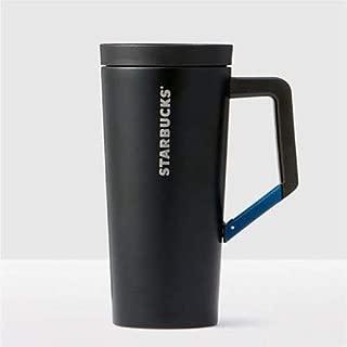 Starbucks Stainless Steel Black Tumbler With Clip Handle, 16 Fl Oz
