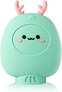 TZSMRSD Water-Filled Hand Warmer, Cute Winter Warm Silicone Warm Baby, Hand Warmer Hot Water Bottle,Multiple Colors to Cho...