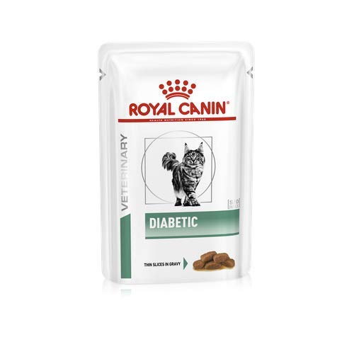 ROYAL CANIN Vet Diet Diabetic Frischebeutel Katze, Option:12 x 85 g