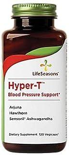 HyperT Blood Pressure Support Arjuna, Hawthorn Ashwagandha (120 Vegetarian Capsules)