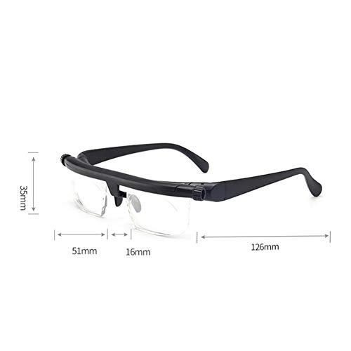 KCJKXC verstelbare brandpuntsafstand leesbril kan worden aangepast Presbyopie bril optische vergrotende bril