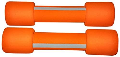 angelHJQ Mancuernas de 1 kg x 2 mancuernas de fitness para niña y niño, pequeñas mancuernas para yoga, ejercicio, para oficina, hogar, (color: 1 kg x 2)