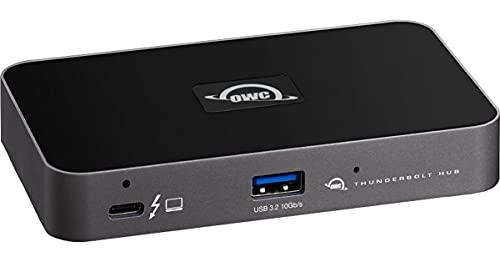 OWC Thunderbolt Hub Dockingstation, grau/schwarz, Thunderbolt 4, USB-A