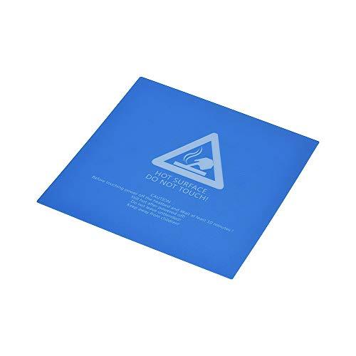 IJeilo 1st 220 * 220mm Heat Bed Sticker Sheet Hot Bed Build Surface Tape 80-100°C met Zelfklevende Terug voor 3D Printer Creality CR-10 CR-10S 3D printers, als reserveonderdelen verbruiksartikelen
