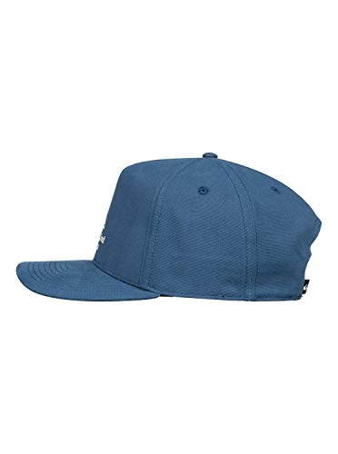Quiksilver Herren Cap Brested - Snapback-Kappe Für Männer, Majolica Blue, 1SZ, AQYHA04613